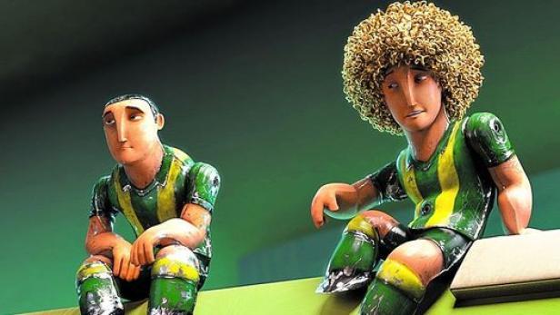 Fußball Großes Spiel Mit Kleinen Helden Filmat