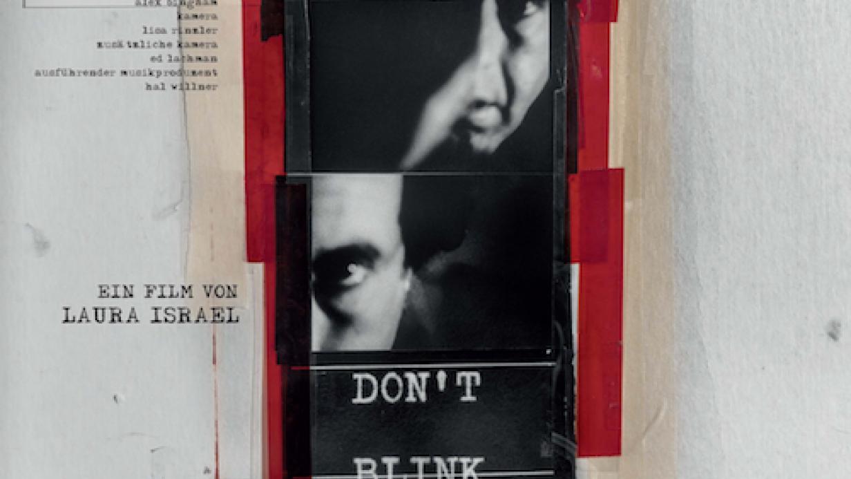 Bildergebnis für fotos vom cover zum film DON´T BLINK - ROBERT FRANK