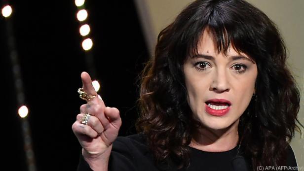 """Argento sei """"zutiefst schockiert"""" über die falschen Aussagen"""