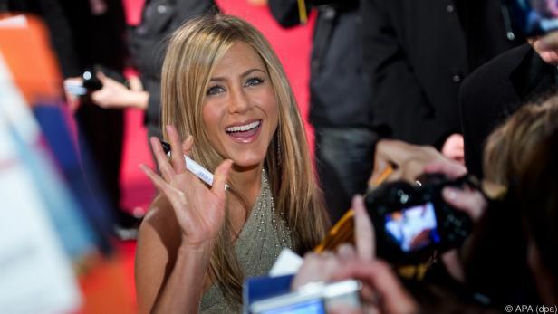 Aniston feierte ihren 50. Geburtstag nach