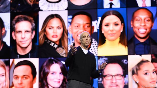 """""""Quibi""""-Mitbegründer Katzenberg wirbt mit Stars, Stars, Stars"""