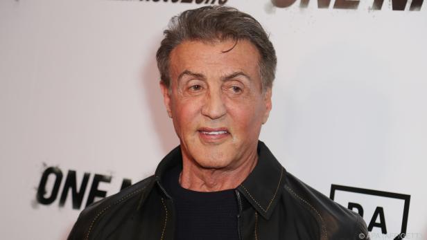 Sylvester Stallone hat die Chance auf eine Goldene Himbeere