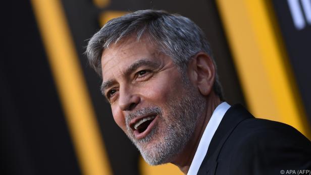 George Clooney bringt ein Hauch Hollywood nach Wien