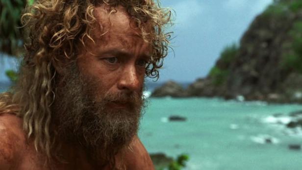 """Tom Hanks in """"Cast Away - Verschollen"""""""