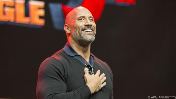 """Dwayne """"The Rock"""" Johnson ist ein Football-Fan"""