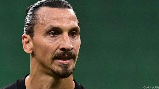 Zlatan Ibrahimovic ist Covid-positiv