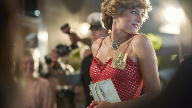 """Emma Corrin als Lady Diana in """"The Crown"""""""