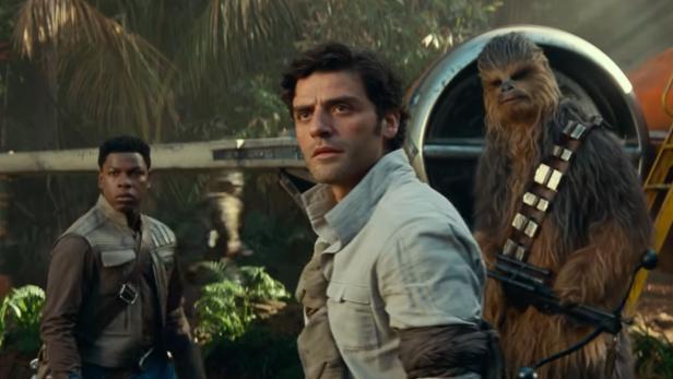 "Oscar Isaac in ""Star Wars"""