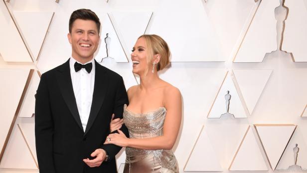 Nun ein Ehepaar: Colin Jost und Scarlett Johansson