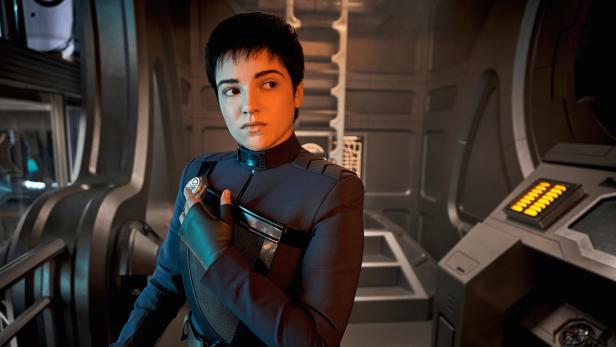 "Blu del Barrio als Adira in ""Star Trek: Discovery"""