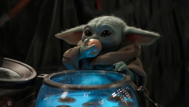 "Baby-Yoda in ""The Mandalorian"""