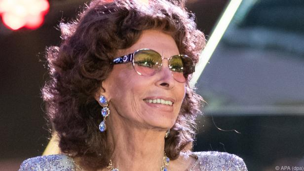 Italienes lebende Film-Legende Sophia Loren