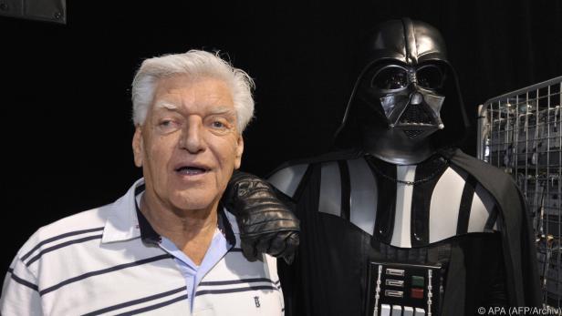 David Prouse spielte Darth Vader in den Star-Wars-Filmen