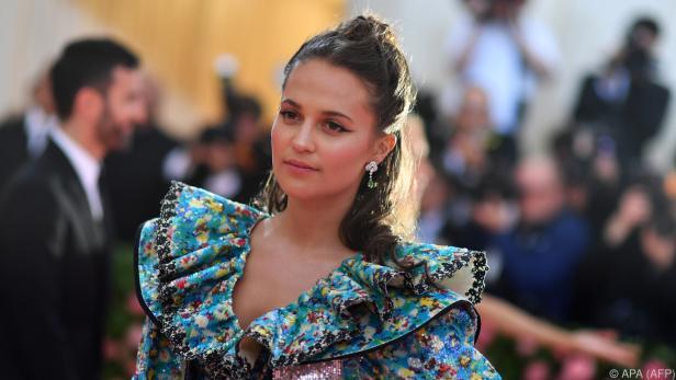 Alicia Vikander soll einen Filmstar spielen