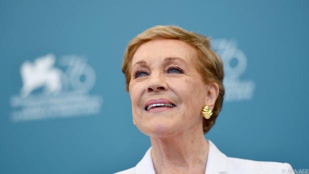 "Julie Andrews erhielt Oscar für Disney-Musical ""Mary Poppins"""