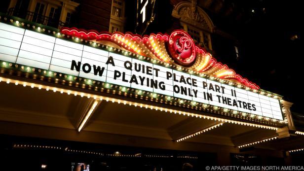 """Ein Kino in Texas zeigt """"A Quiet Place II"""""""
