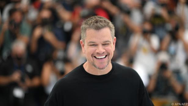 Matt Damon hat gleich drei Töchter
