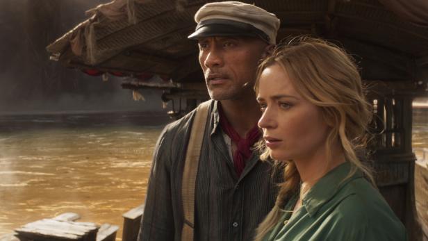 """""""Jungle Cruise"""": Das sagt Emily Blunt zum Kuss mit Dwayne Johnson"""