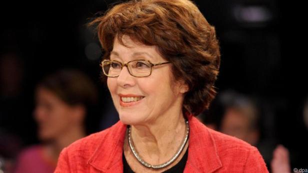Marianne Koch bleibt beim Thema Älterwerden ziemlich gelassen