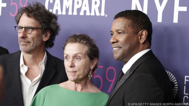 Starregisseur Coen mit McDormand und Washington