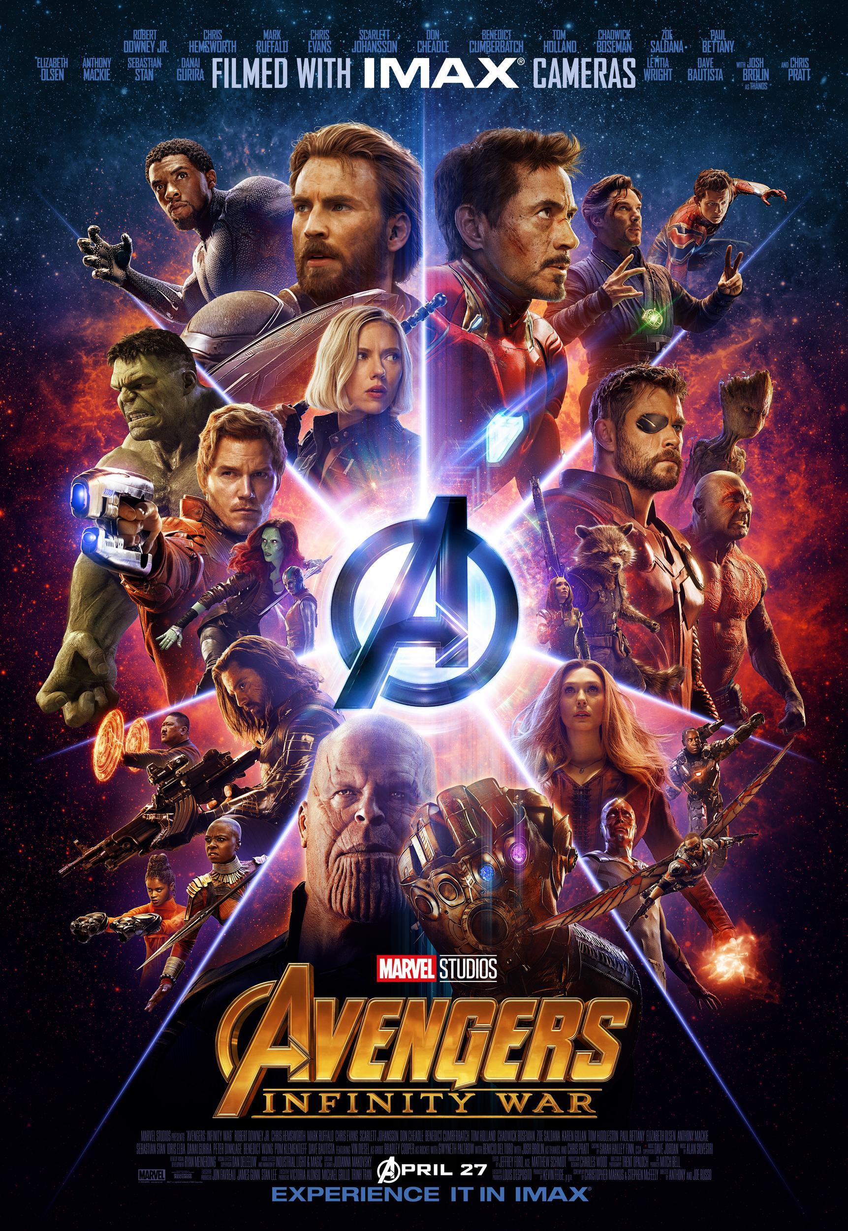 infinity war kino