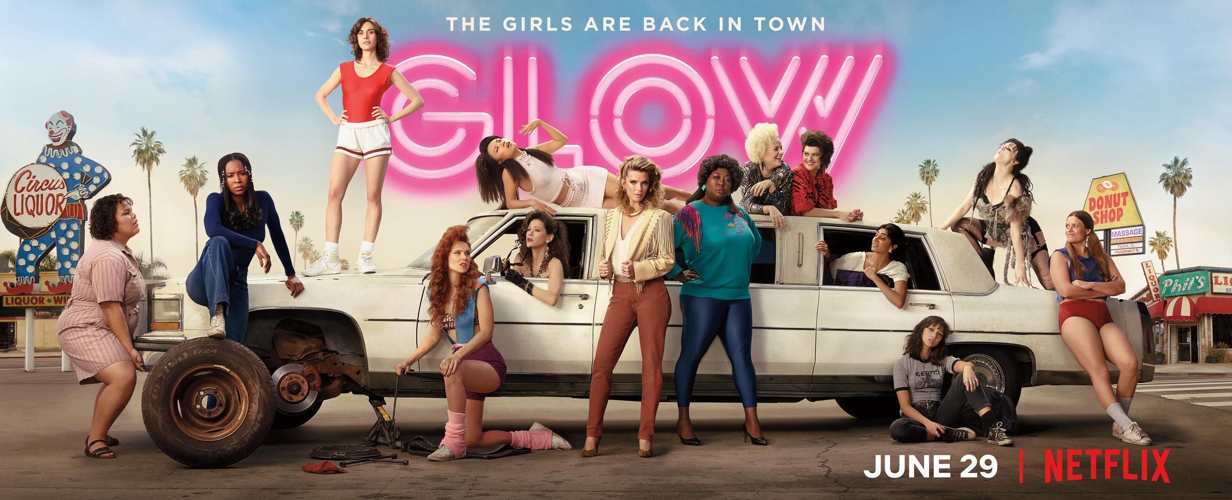 Zweite Staffel von GLOW ab 29. Juni auf Netflix