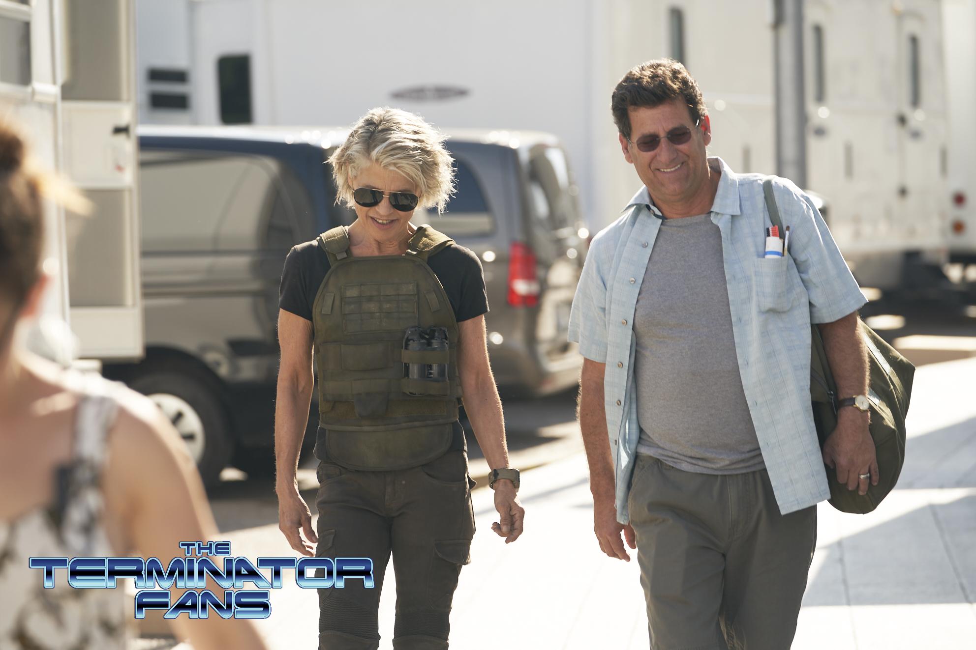 Terminator 6: Erste Bilder von Linda Hamilton als Sarah Connor