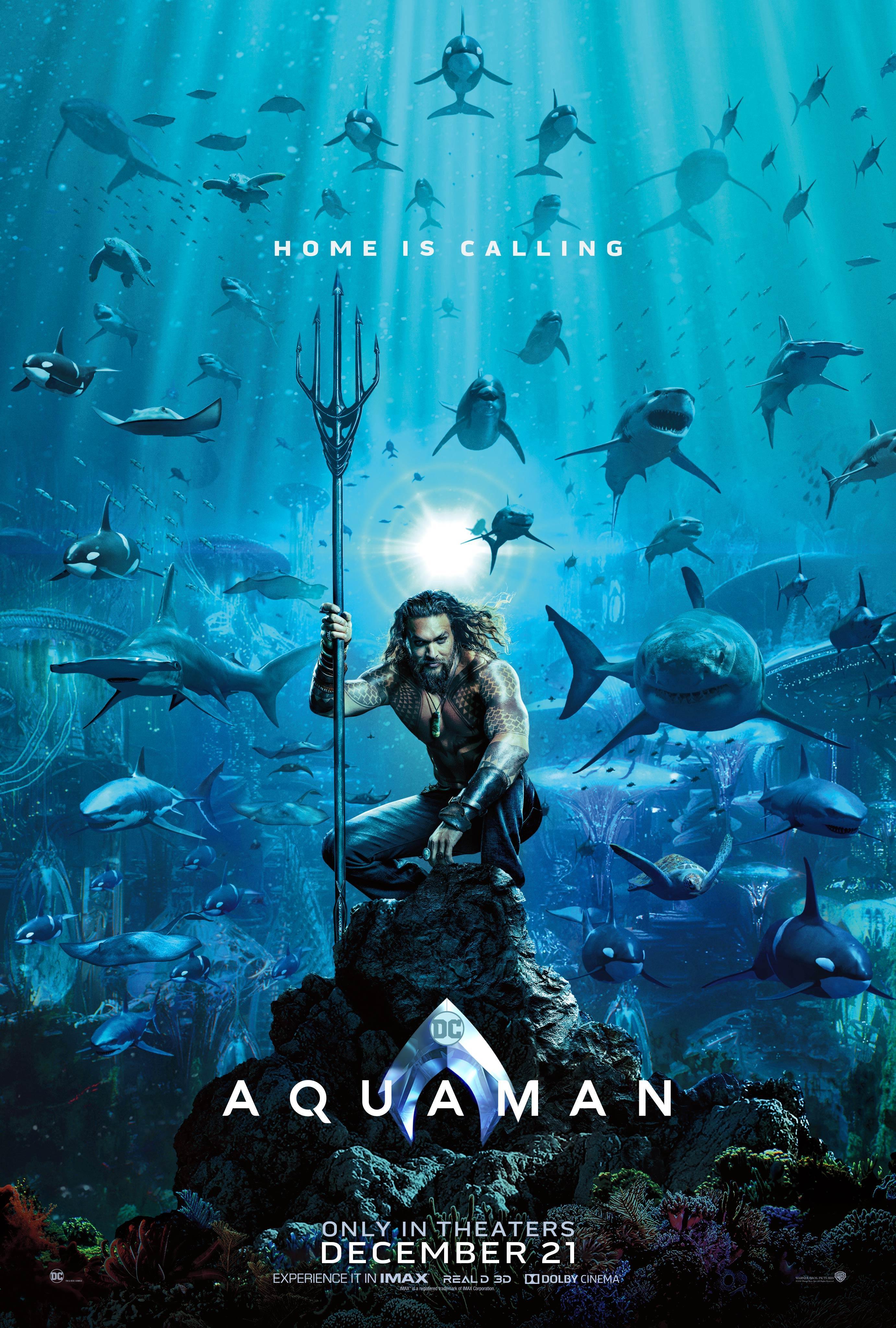 Aquaman: Was wir über den DC-Superheldenfilm bisher wissen
